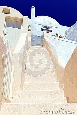 Architektur von Santorini