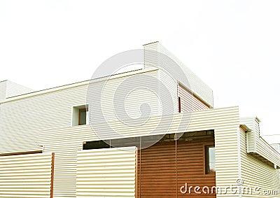 Architettura casa moderna privata fotografia stock - Architettura casa moderna ...