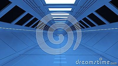Architettura futuristica 3d