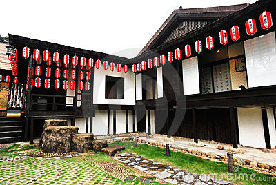 Architettura giapponese antica immagine editoriale for Architettura tradizionale giapponese