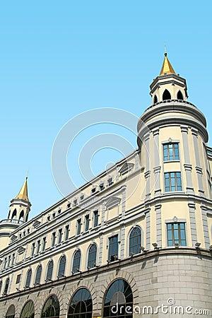 Architettura russa classica replica immagini stock for Architettura classica