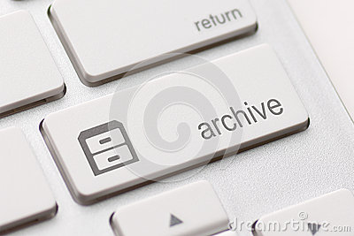 Archive enter key