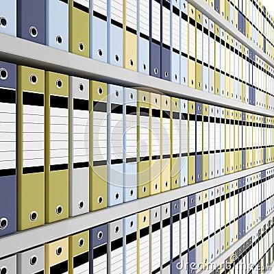 Archive folder background