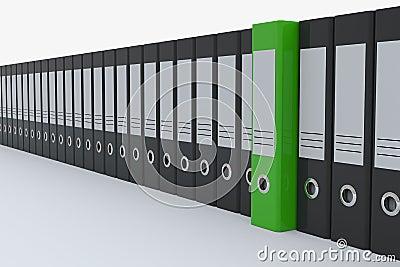 Archive folders.