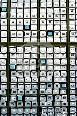 Archives boxes