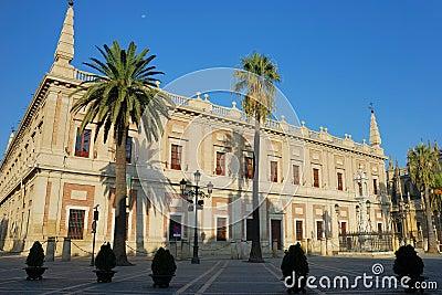 Archivo General de Indias, Siviglia