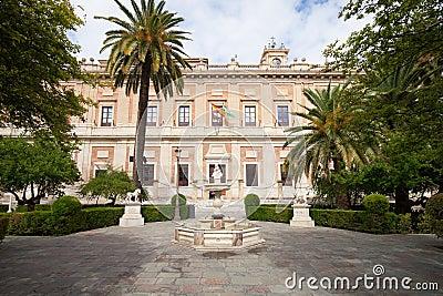 Archivo general de los indies en Sevilla