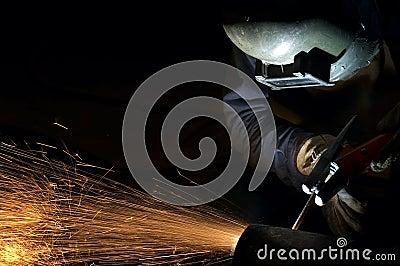 Arcing at night