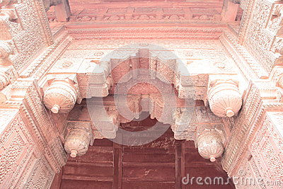 Arco antigo do forte de Agra