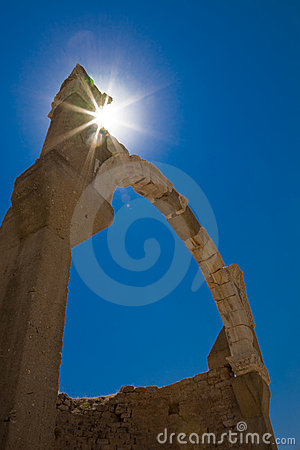 Arco antiguo, Ephesus, Turquía