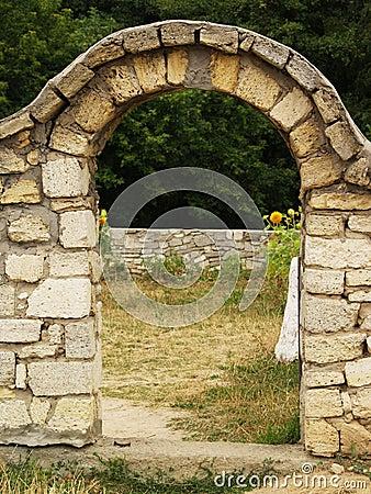 Arco de pedra