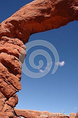 Arco de pedra natural