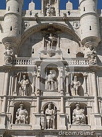 Arco De Santa Maria, Burgos ( Spain ) Stock Photo - Image: 45134819
