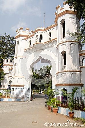 Arco del punto di riferimento, Haidarabad, India