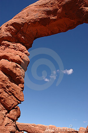 Arco di pietra naturale