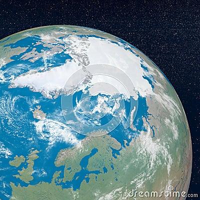 Arctic - 3D render