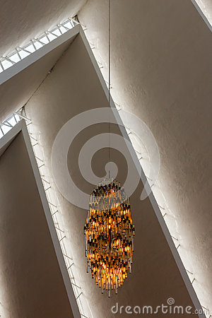 The Arctic Cathedral. Editorial Stock Image
