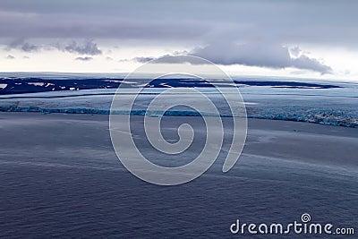 Arctic glacier.