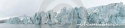 Arctic - glacier panorama