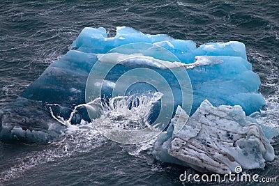 Arctic iceberg. ice stock. area Novaya Zemlya