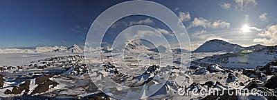 Arctic landscape, Greenland