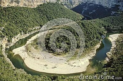 Ardeche valley