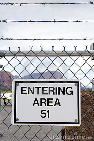 Free Area 51 Stock Photography - 3602062