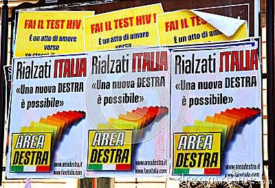 Area Destra Editorial Image
