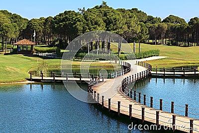 Area of Sueno Golf Club.