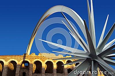 Arena di Verona with star