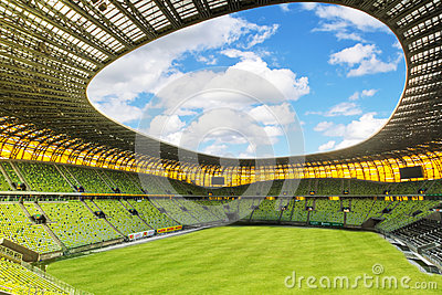 Arena Gdansk stadium for Euro 2012 Editorial Stock Image