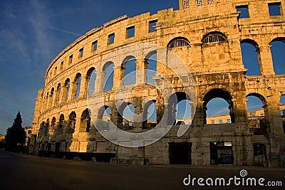 Arena in Pula Croatia