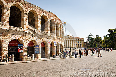 Arena of Verona Editorial Stock Image