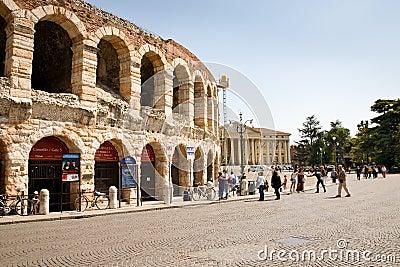 Arena of Verona Editorial Stock Image