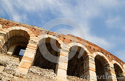 Arena in Verona, Italy.