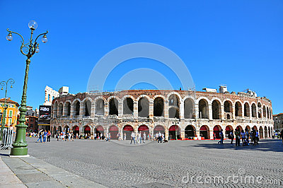 Arena of Verona Editorial Photo