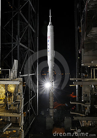 Ares I-X rocket Editorial Photography