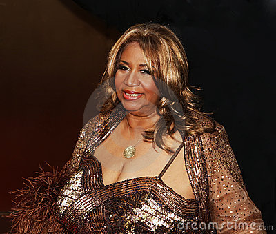 Aretha Franklin Immagine Editoriale
