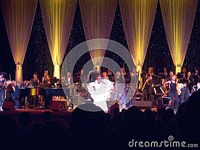 Aretha Franklin Εκδοτική Στοκ Εικόνες