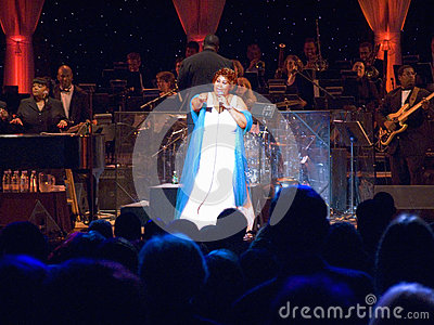 Aretha Franklin Editorial Stock Photo