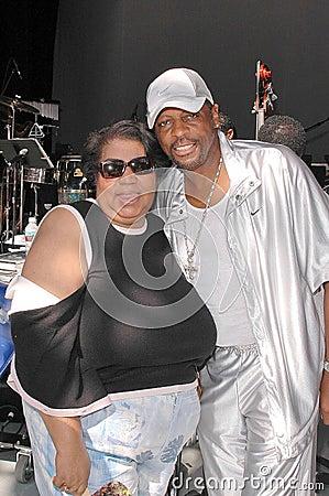 Aretha Franklin, Ali  Ollie  Woodson, Ali  Ollie  Woodson, Ali Woodson, Ali Woodson dźwięki, dźwięki (Ollie) Fotografia Editorial