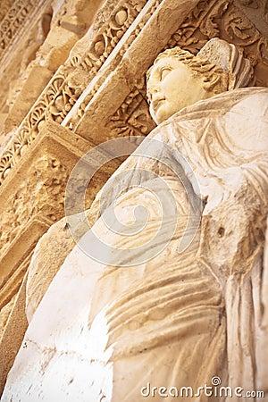 Aretia statue in Ephesus