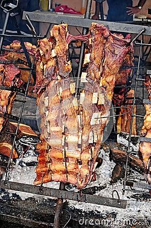 Argentina beef asado