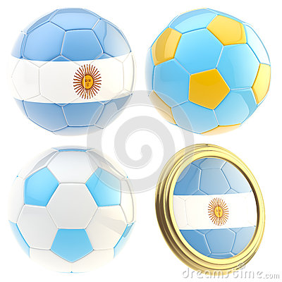 Argentina football team attributes isolated