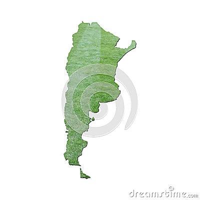 Argentina grass map