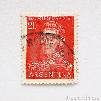 Argentine stamp