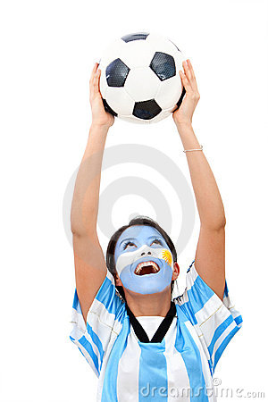 Argentinean football fan