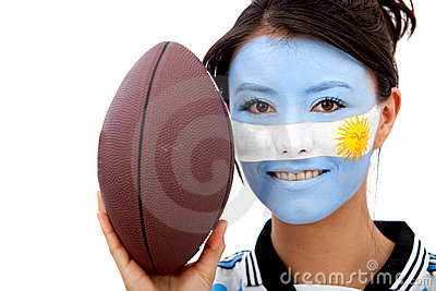 Argentinean rugby fan