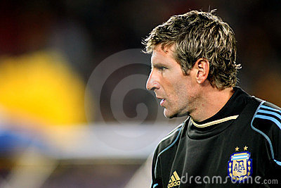 Argentinian player Martin Palermo Editorial Photo