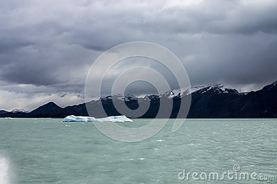 Argentino Lake Ice Blocks Patagonia
